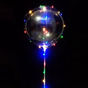 BALÃO BUBBLE LED
