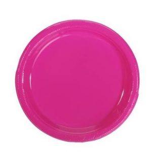 PRATO DE SOBREMESA ROSA PINK 18CM