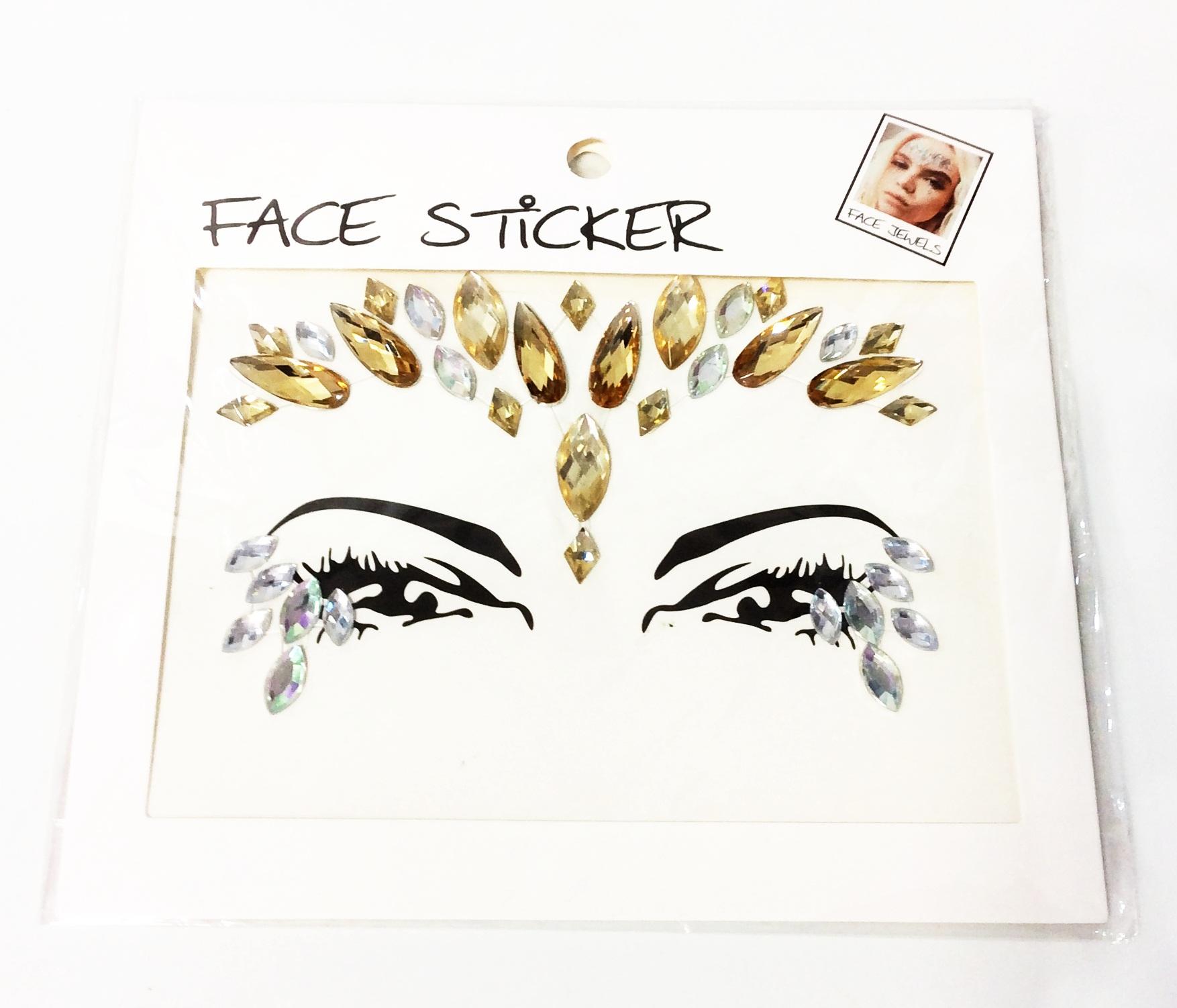 ADESIVO FACIAL FACE STICKER S1