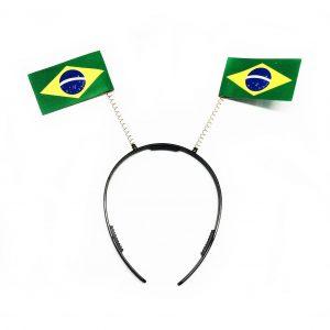 TIARA BANDEIRAS DO BRASIL