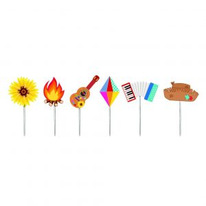 TOPPER DECORATIVO PARA DOCES FESTA JUNINA