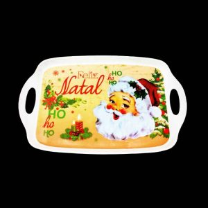 "BANDEJA DO PAPAI NOEL ""FELIZ NATAL"""
