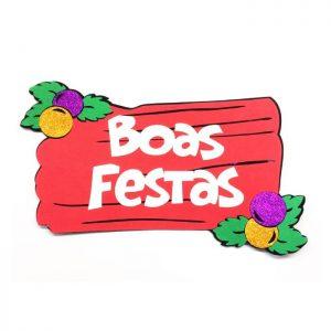 "PAINEL ""BOAS FESTAS"""