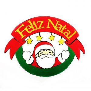 "PAINEL ""FELIZ NATAL"" COM PAPAI NOEL"