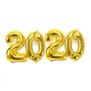 KIT BALÕES 2020 70cm*