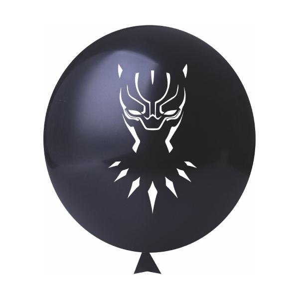 """BALÃO BLACK PANTHER 11"""" 25x"""
