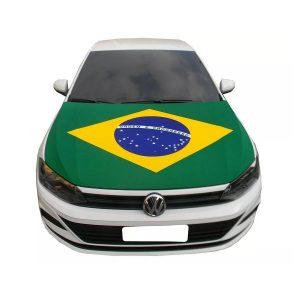 CAPA PARA CAPÔ DE CARRO DA BANDEIRA DO BRASIL