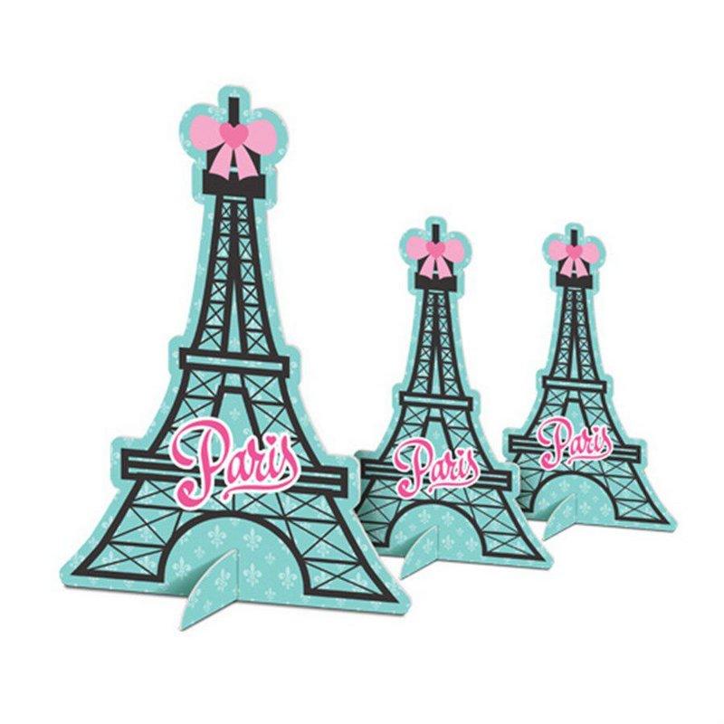 DECORAÇÃO DE MESA PARIS 4x