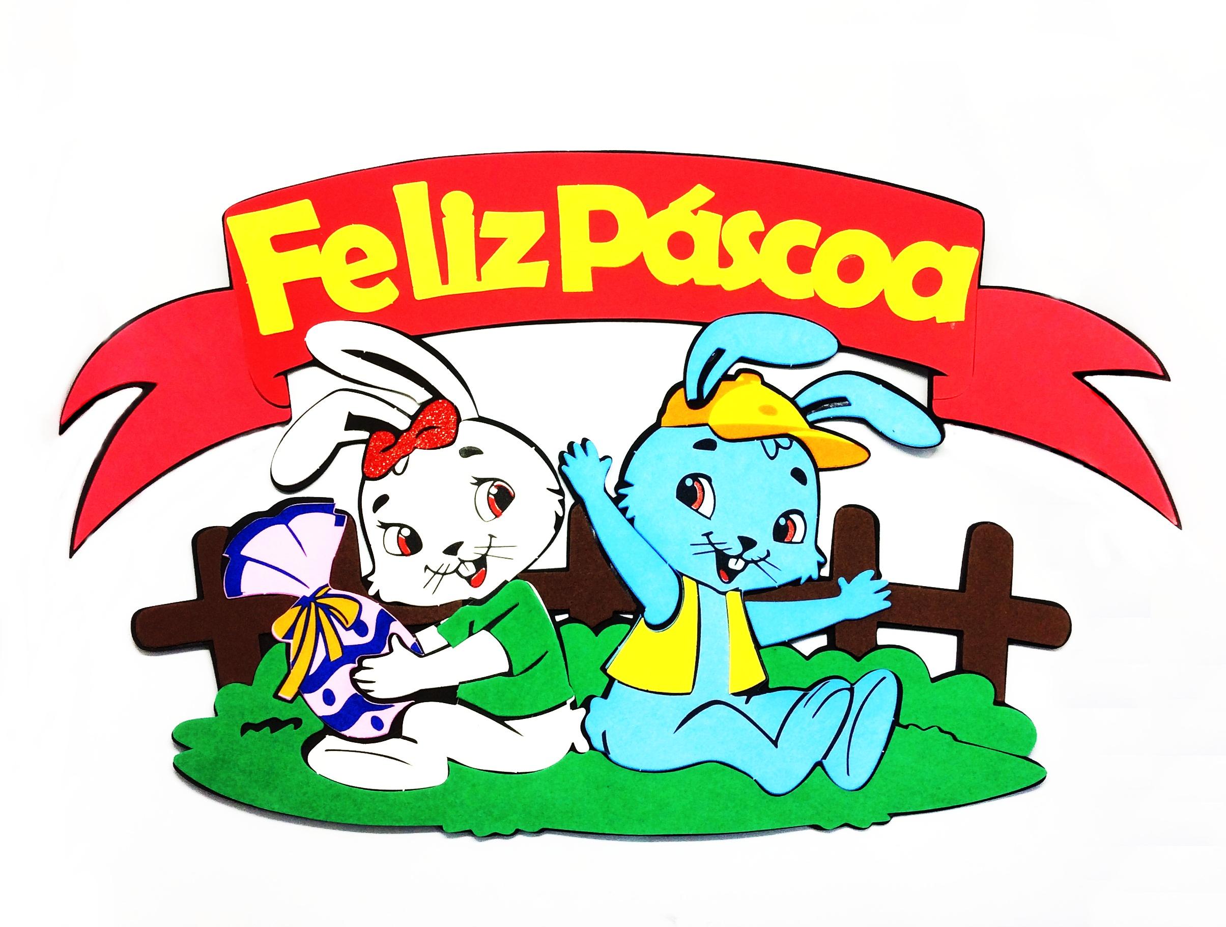 "PAINEL ""FELIZ PÁSCOA"""