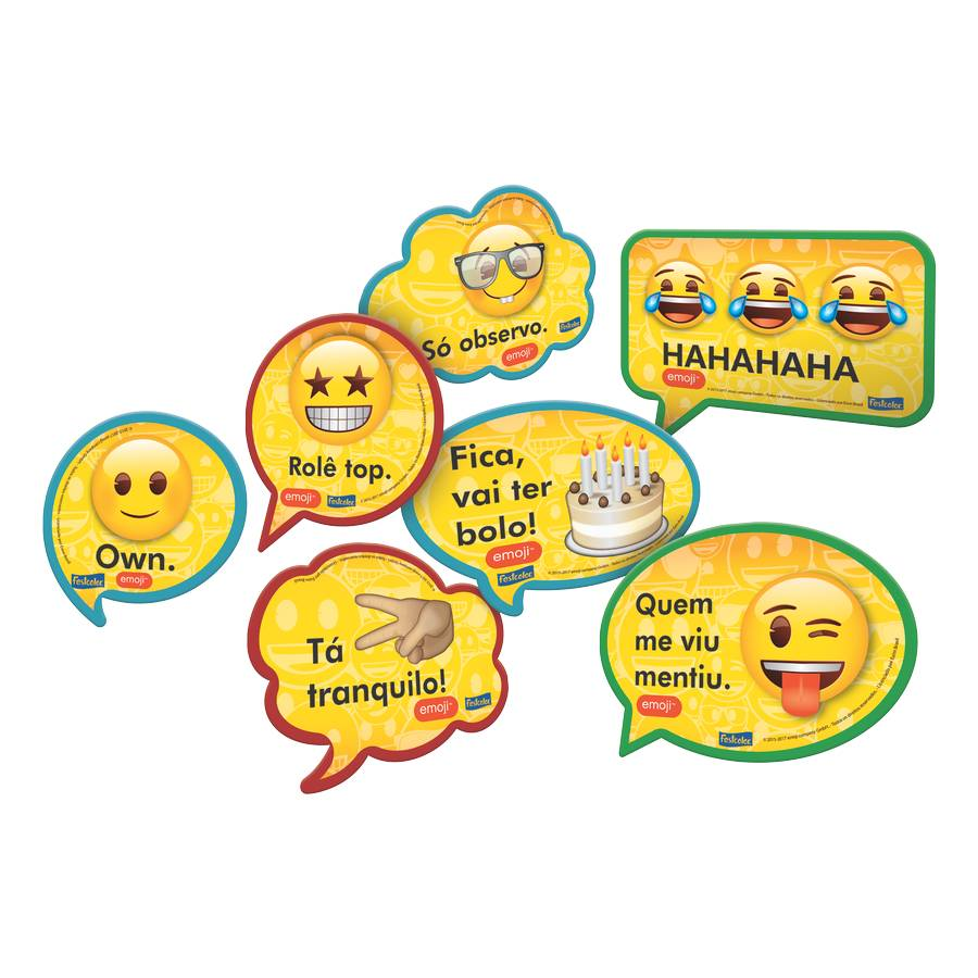 KIT PLACAS EMOJI