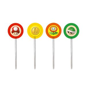 PICK DECORATIVO SUPER MARIO 12x