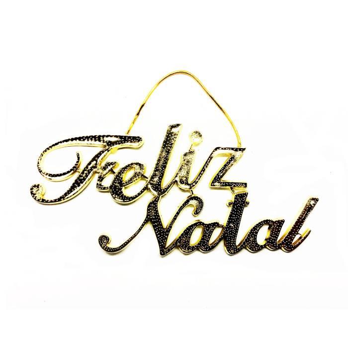"PLACA ""FELIZ NATAL"""