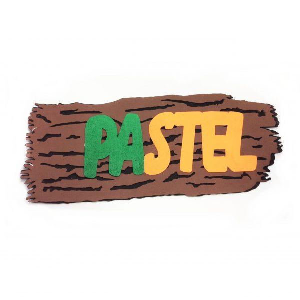 "PLACA ""PASTEL"" PARA FESTA JUNINA"