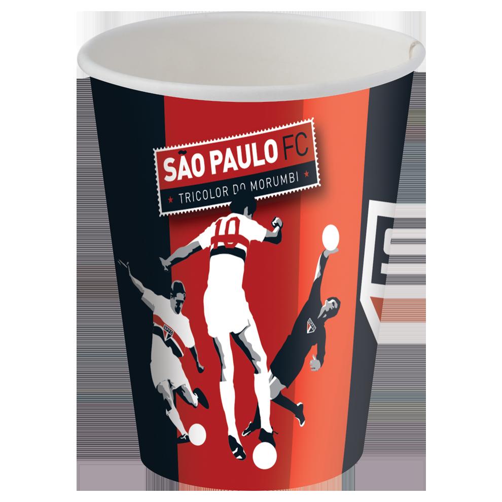 COPO DESCARTÁVEL SÃO PAULO 8X