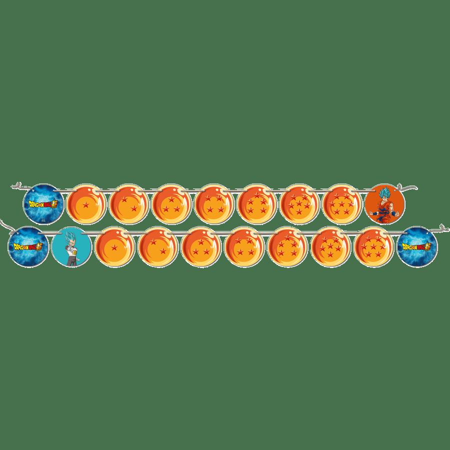 FAIXA DECORATIVA DRAGON BALL 2,15m