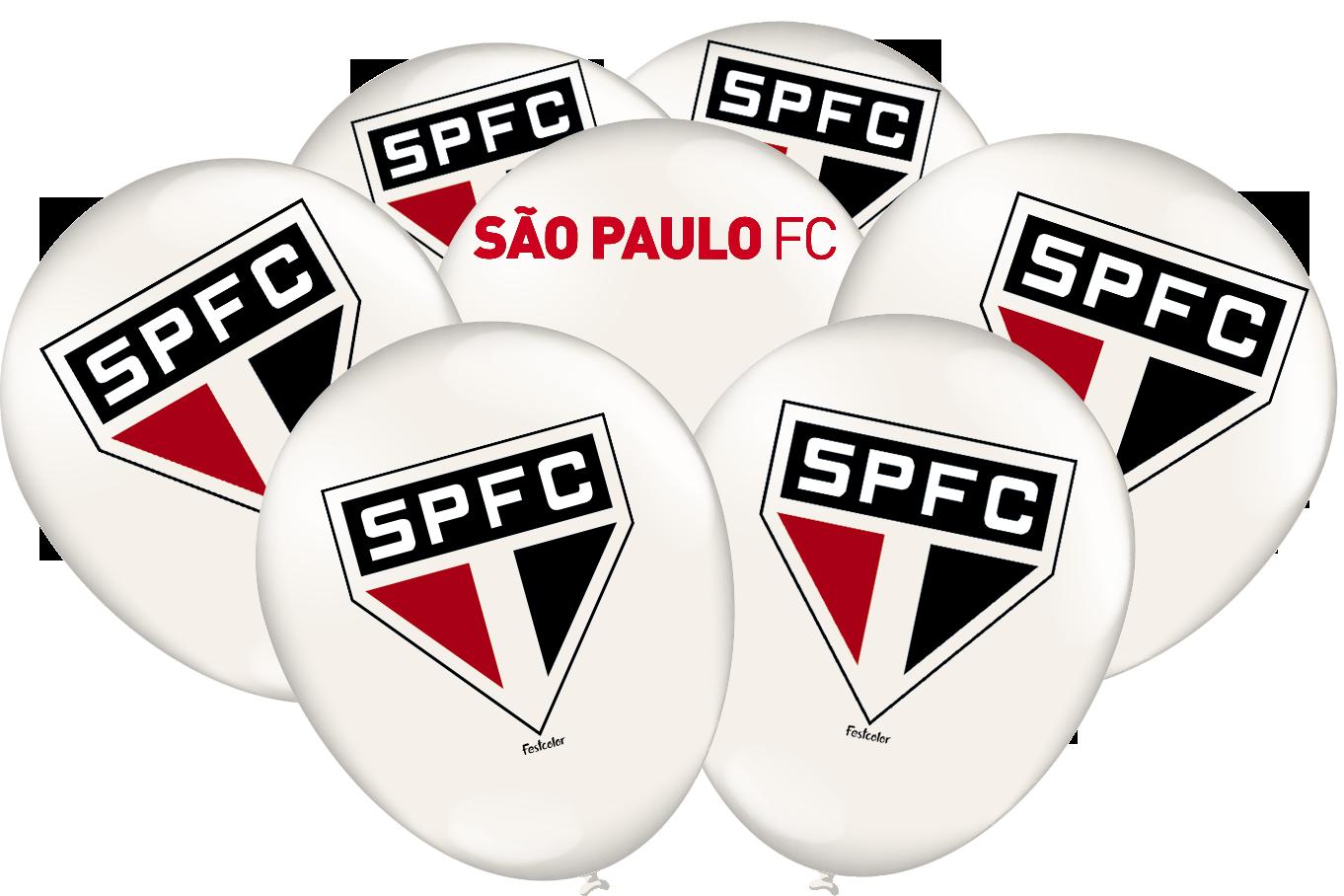 """BALÃO SÃO PAULO 9"""" 25X"""