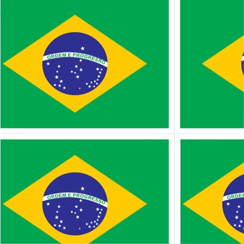 TOALHA DE MESA DO BRASIL 1,40 x 2,20m 1x