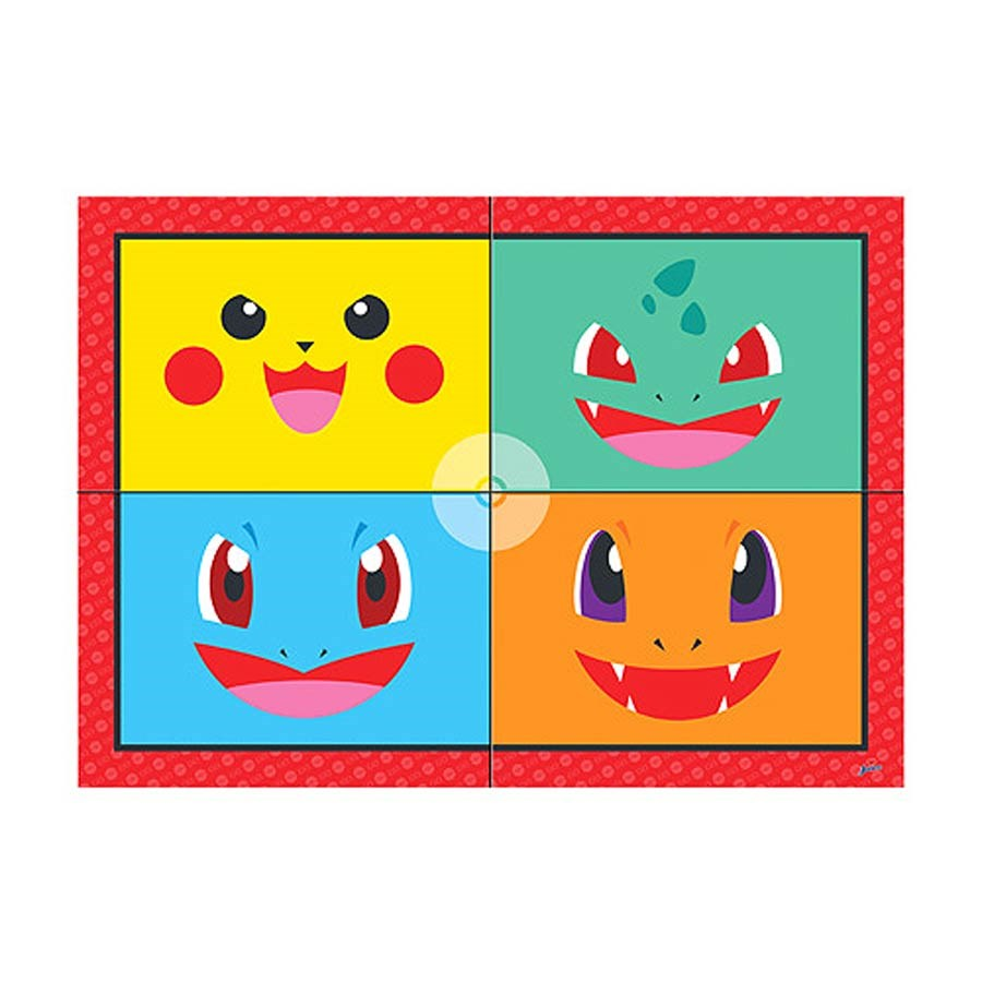 PAINEL POCKET MONSTERS 125 x 89 cm