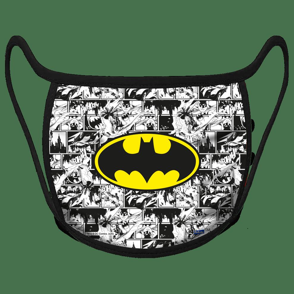 MÁSCARA DE PROTEÇÃO INFANTIL BATMAN
