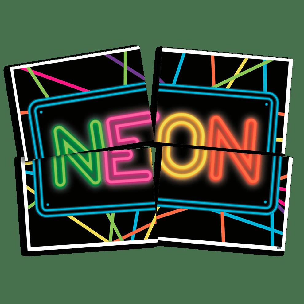 PAINEL DECORATIVO NEON 1,28 x 90cm