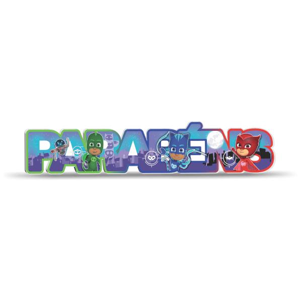 PLACA PJMASKS