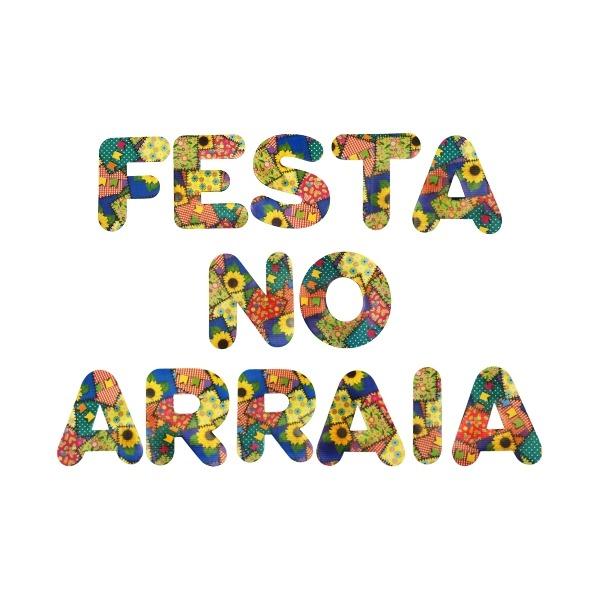 """LETRAS PARA FESTA JUNINA """"FESTA NO ARRAIA"""" PATCHII"""