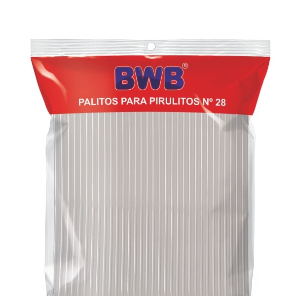 PALITOS PARA PIRULITOS BWB Nº28 50x